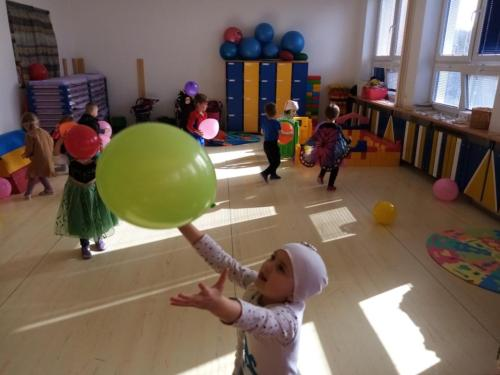 Hrajeme si s balónky