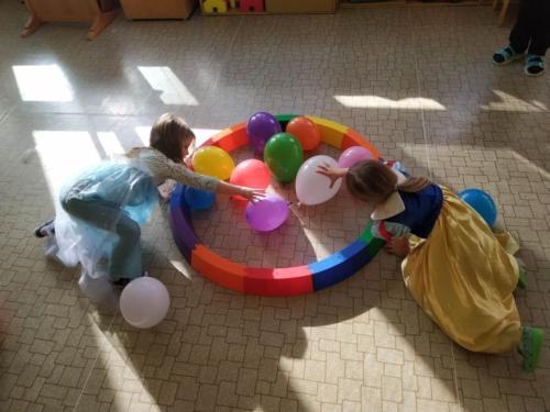 Kdo získá nejvíce balónků