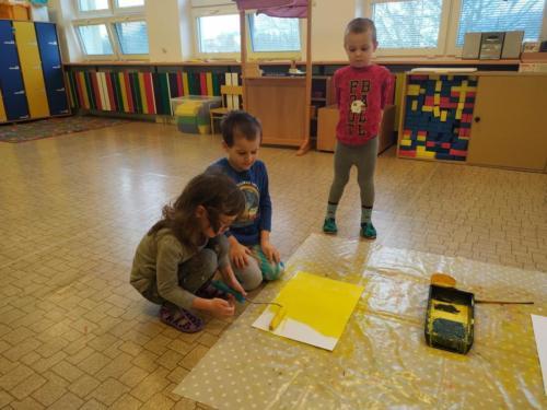 Malíři ve školce