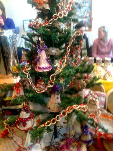 Výstava barevné vánoce 2012