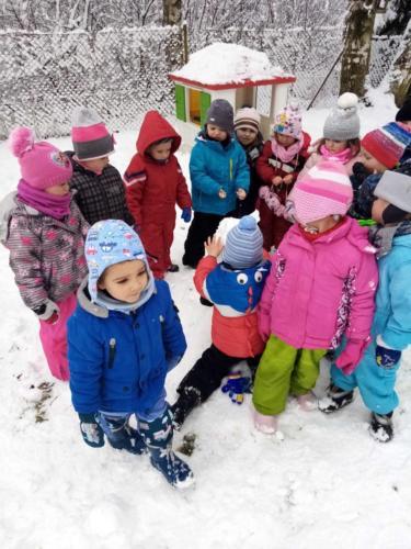 Sněhové hrátky - Broučci