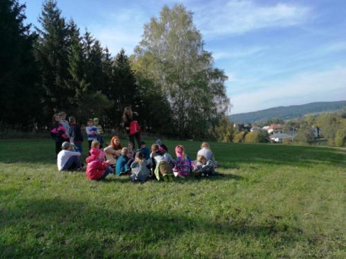 Školní družina v lese